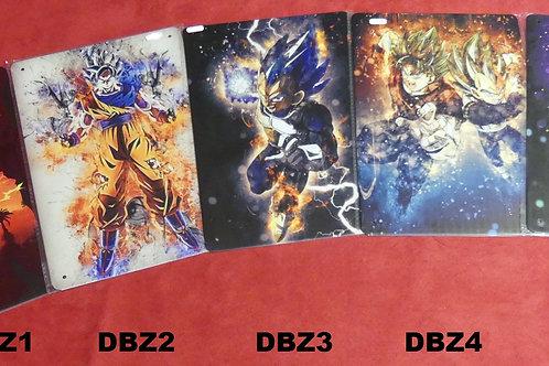 Plaque métal DBZ, Avengers ...
