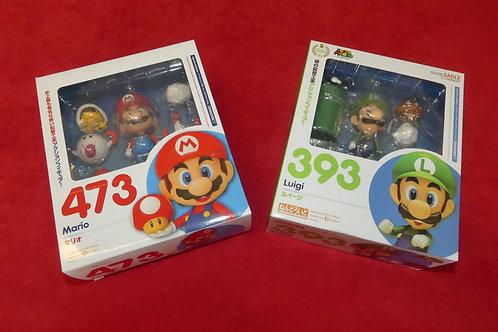 NENDOROID Mario N°473 et Luigi N°393