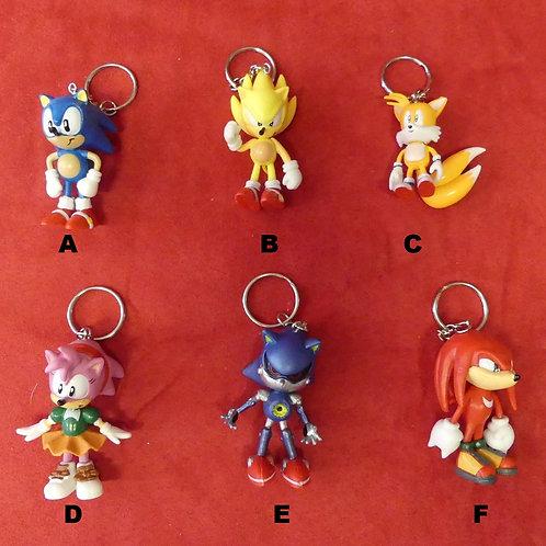 Porte-clés Sonic & Co