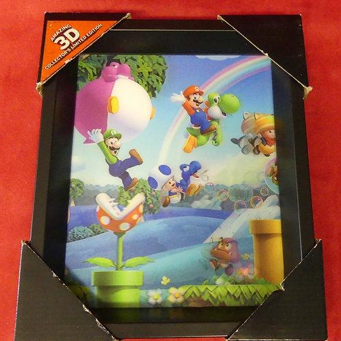 Tableau Mario 3D