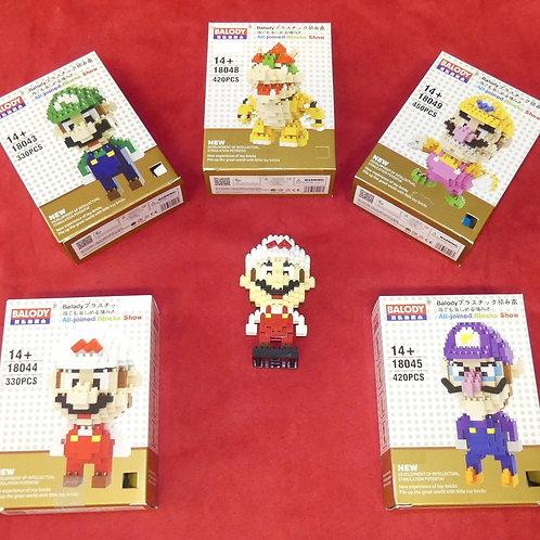 Pixel Blocks Mario & Co 10cm