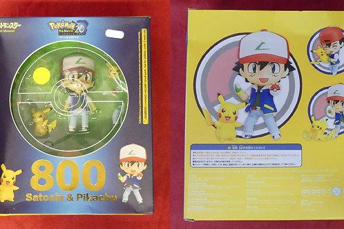 NENDOROID Sasha et Pikachu N°800