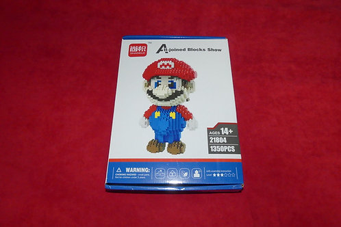 Pixel Blocks Mario 20cm