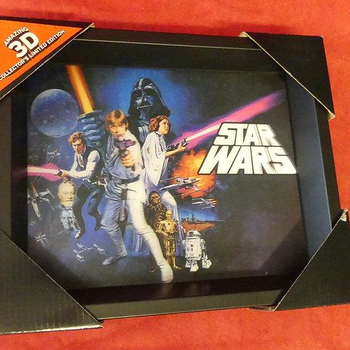 Tableau Star Wars 3D