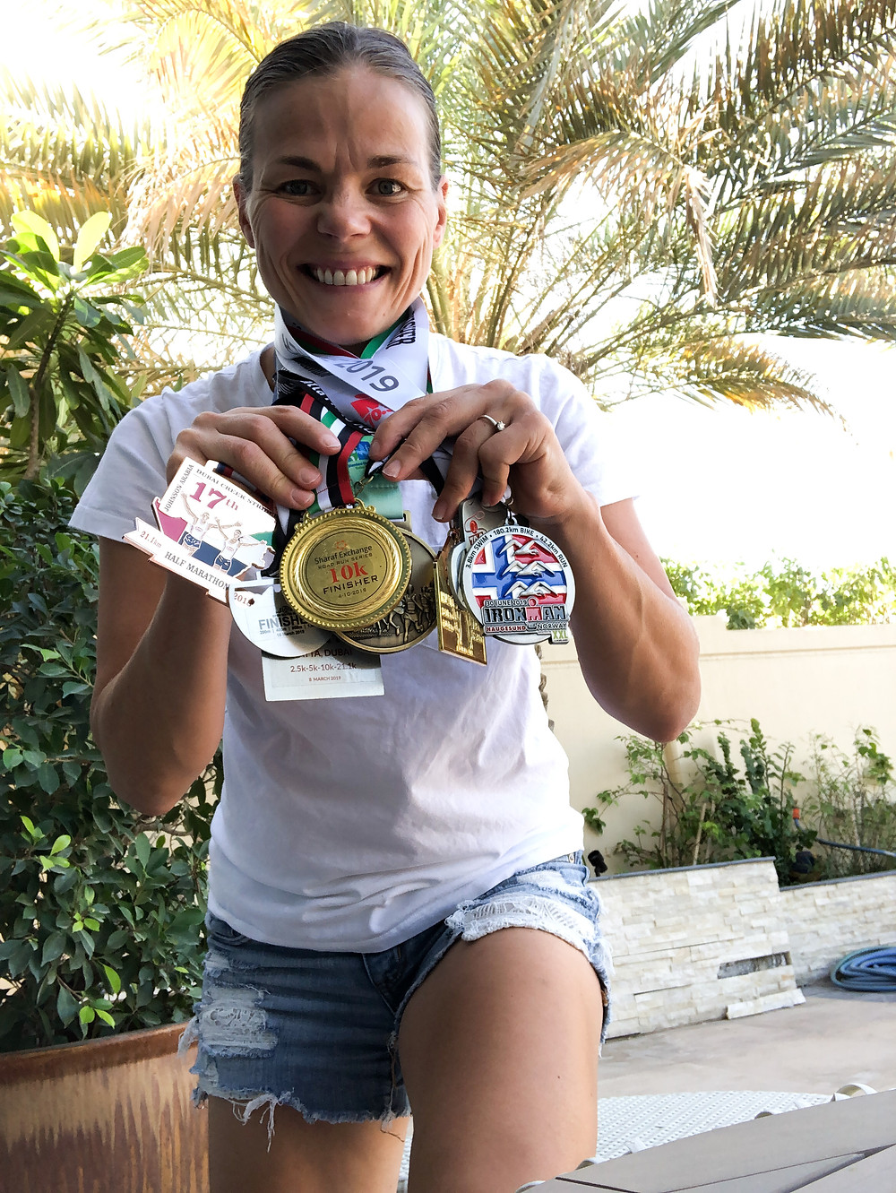 Tired Mom Runs, medals