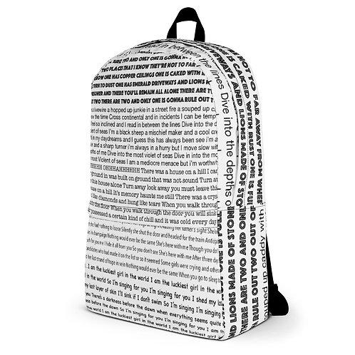 Redgrave Lyric Pint Backpack with Front Pocket