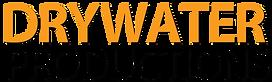 2019 Drywater Logo Orange Black two line