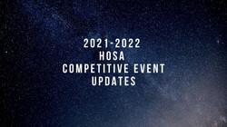Comp event updates 21-22