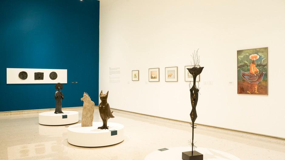 El MUSA recibe al público con seis exposiciones