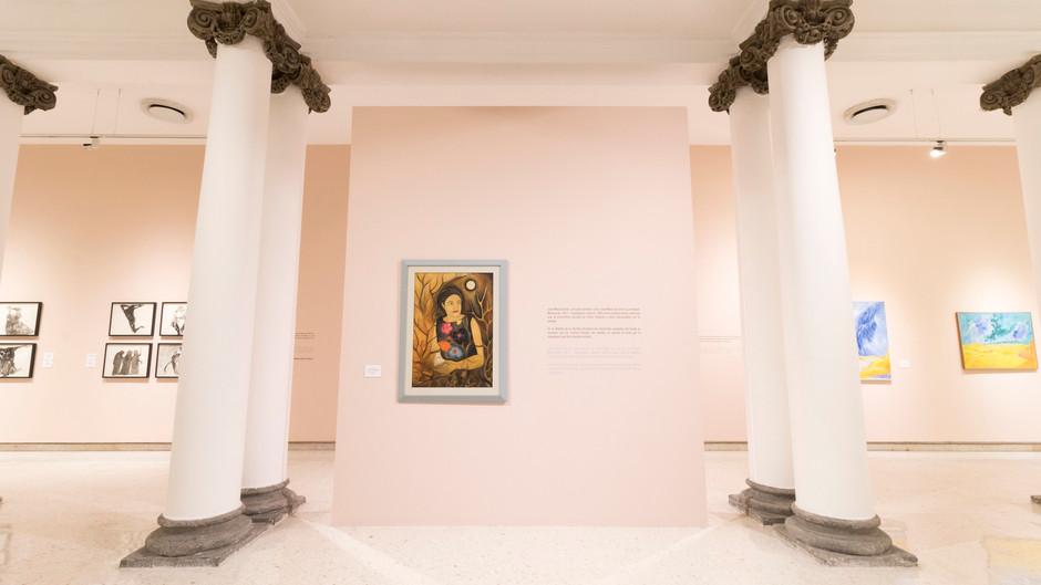 Reúne MUSA obra de cuatro importantes autores de Colección Grodman