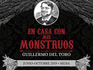 """Descubre las ocho salas de la exposición """"En Casa con mis Monstruos"""" de Guillermo del Toro"""