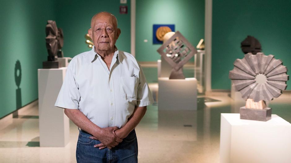 Obra de Estanislao Contreras da forma a exposición en MUSA