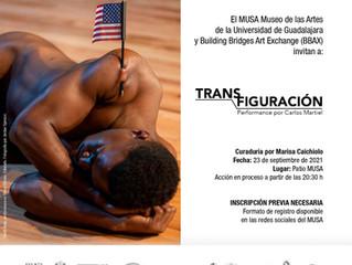 Transfiguración, performance por Carlos Martiel