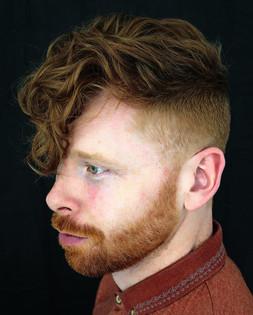 Hair by Creative Technician Sarah