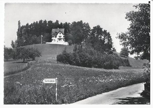 Gasthaus Säntisblick 1979