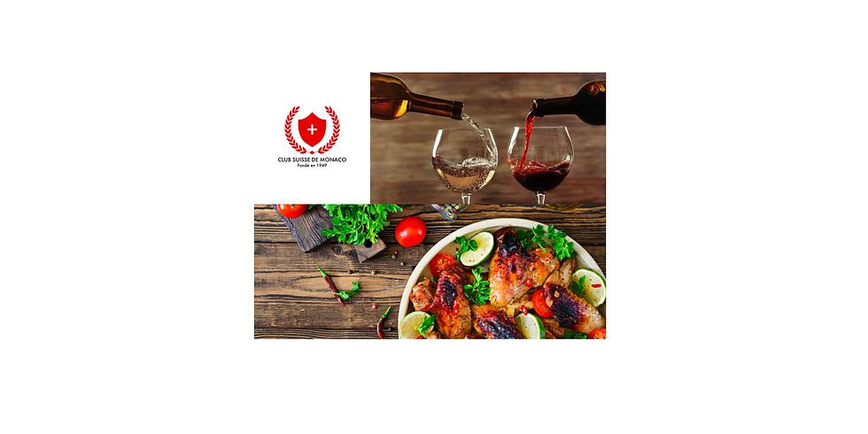 Dégustation de vin & dîner