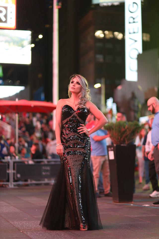 My Look: Tule/Sequin Dress