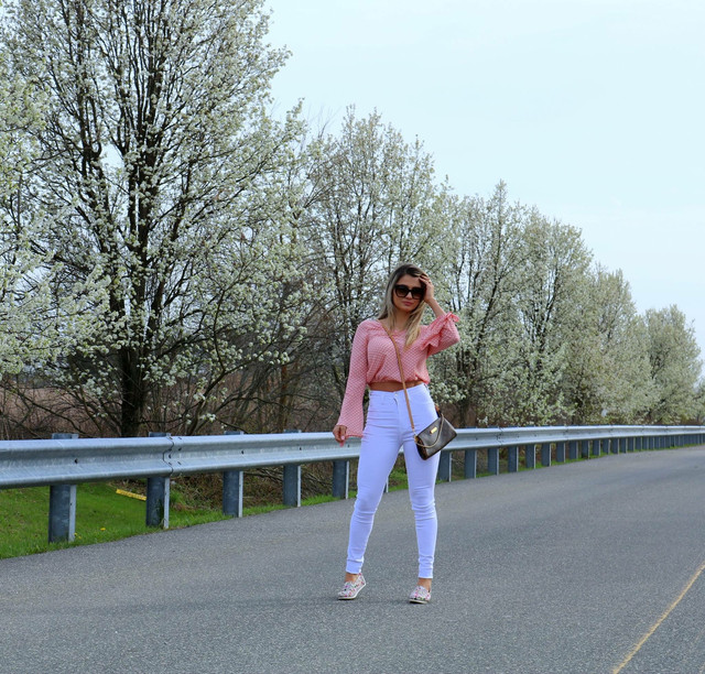 Look do dia: Pink and White