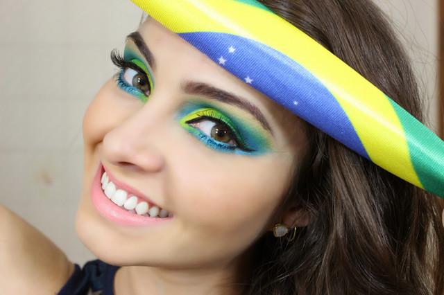 Maquiagempara Copa do Mundo
