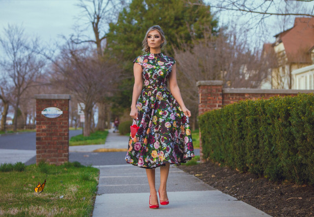 My Look: Floral Dress