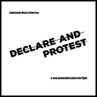Declare & Protest Album Cover (with bord