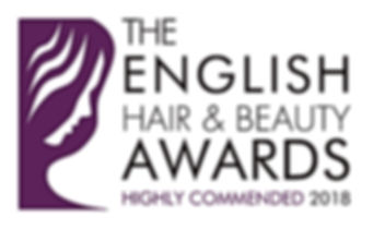 Highly Commended Logo _ English Hair & B