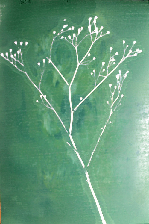 Twig in green