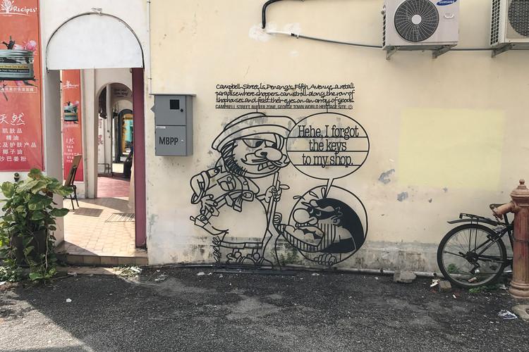 Penang Street Art Campbell Street