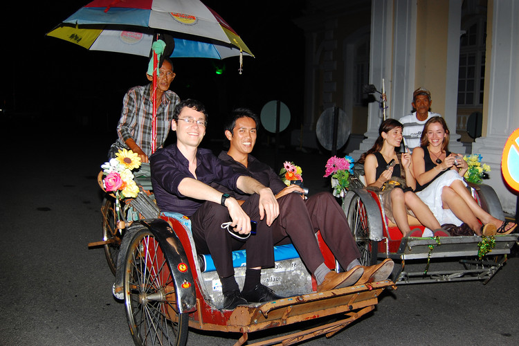 Penang Trishaw Ride