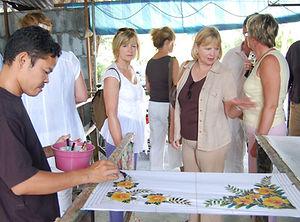 Penang Batik Painting