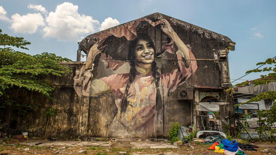 Penang Balik Pulau Street Art