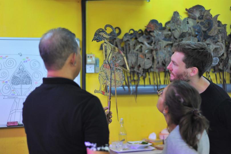 Penang Shadow Puppet Workshop
