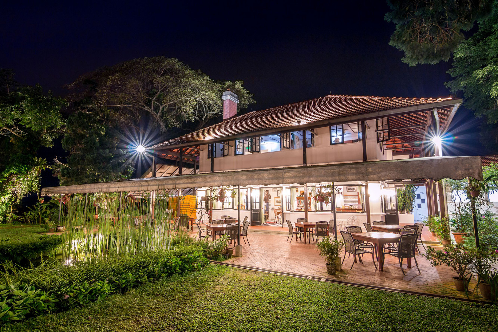 Penang Hill David Brown's Restaurant