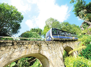 Penang Hill Funicular Train