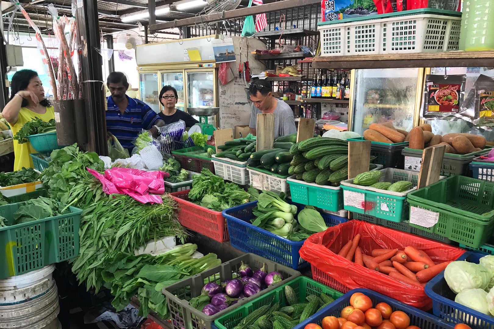 Penang Wet Market