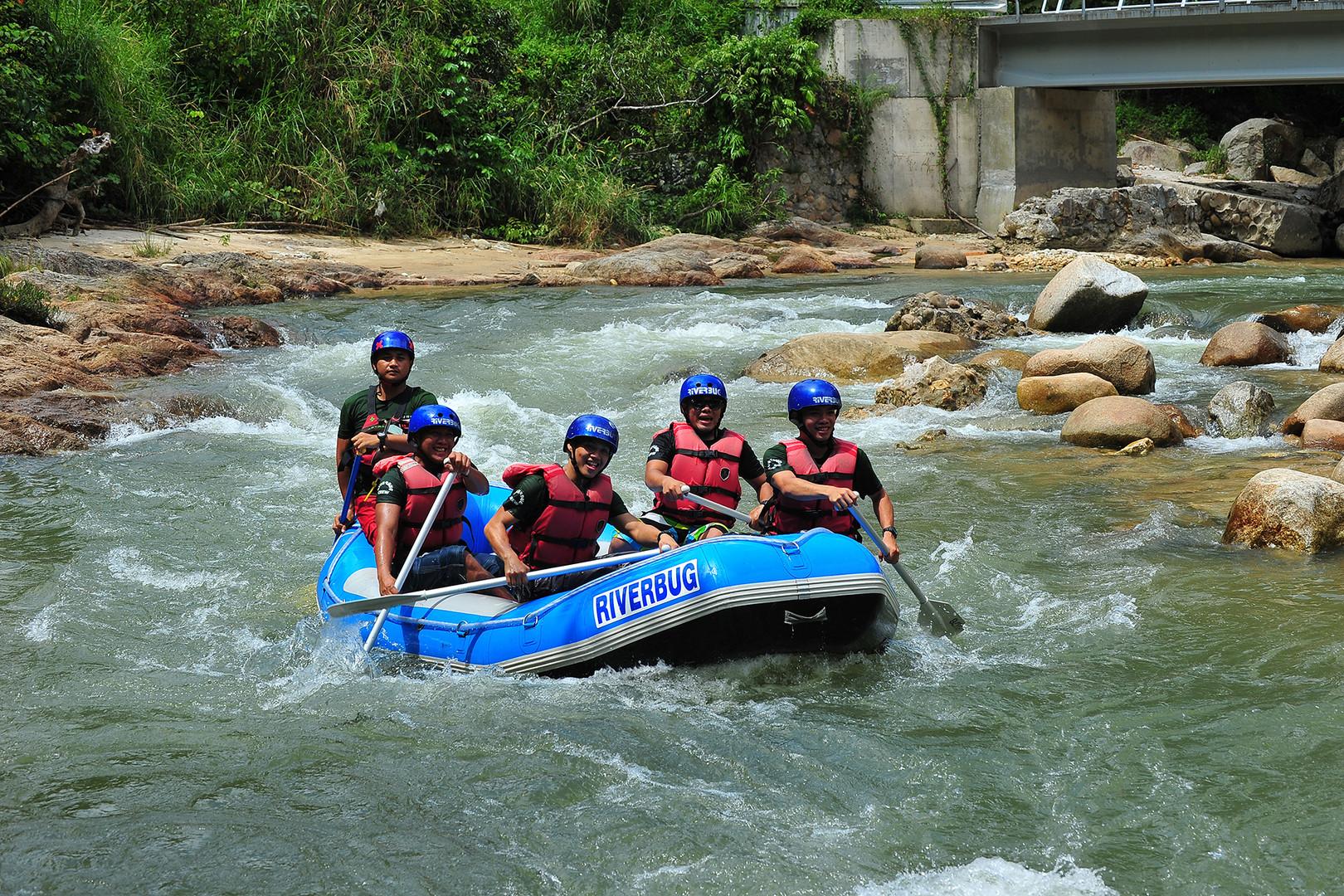 Gopeng White Water Rafting