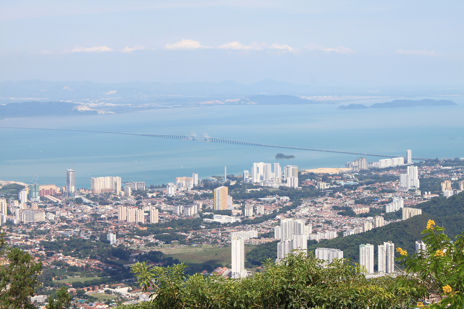 Panoramic View from Penang Hill
