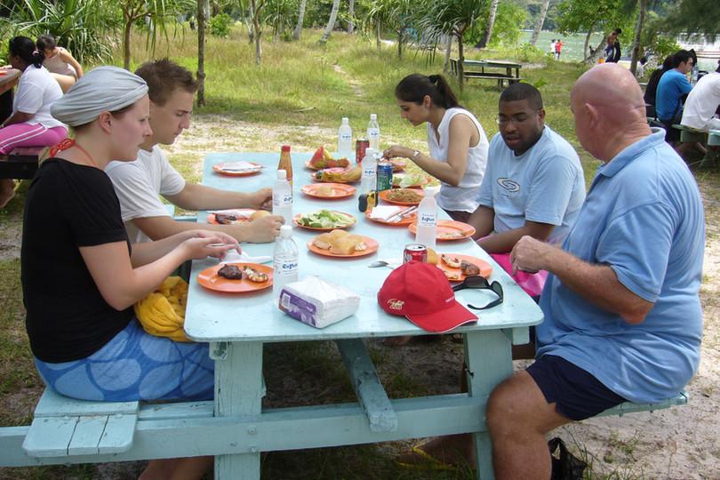 Penang Monkey Beach BBQ Lunch