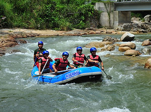 Gopeng White Water Rafting
