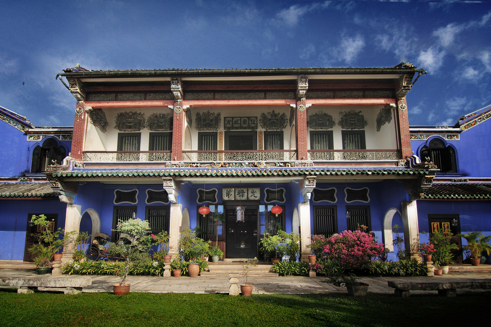 Penang Cheong Fatt Tze The Blue Mansion