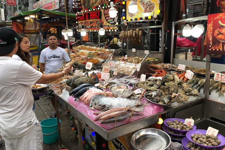 Jalan Alor Food Street