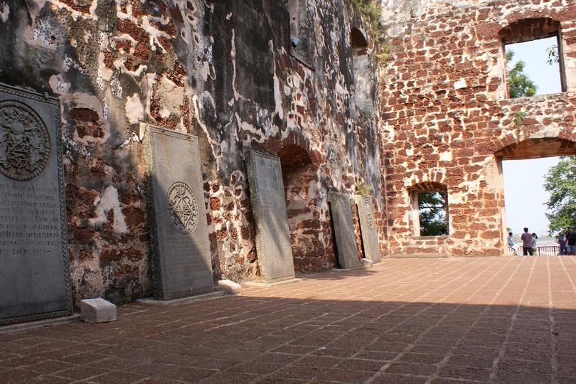 Malacca Dutch Tombstones