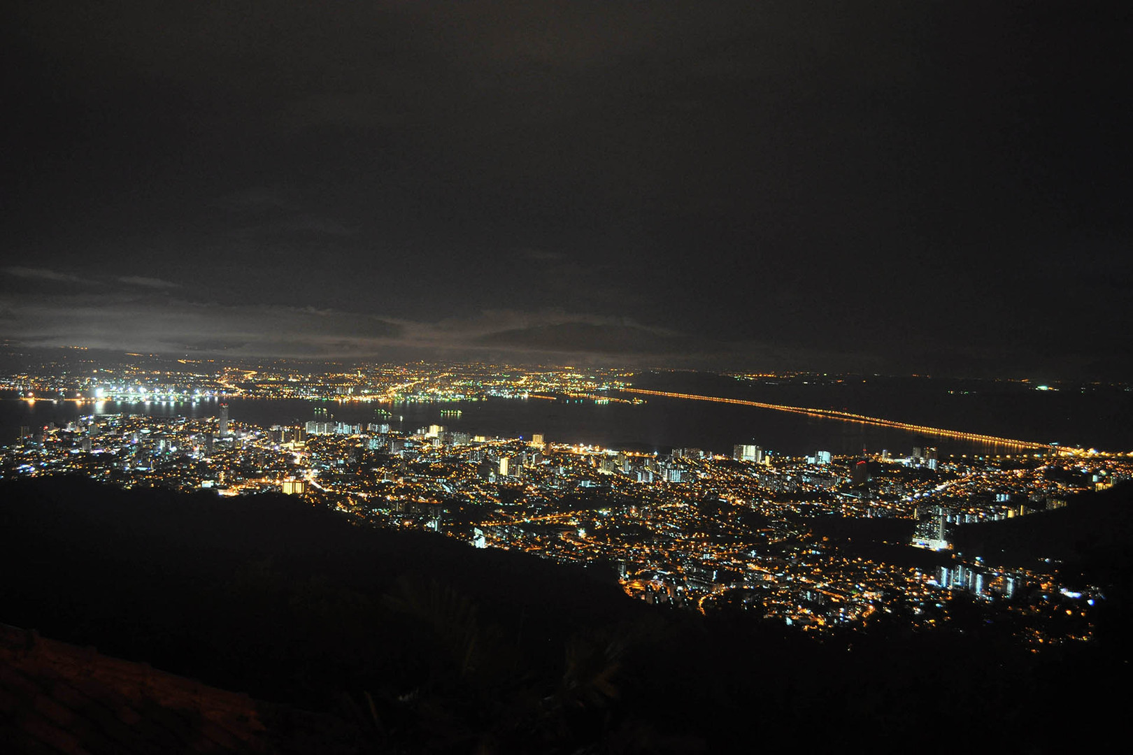 Night View of George Town