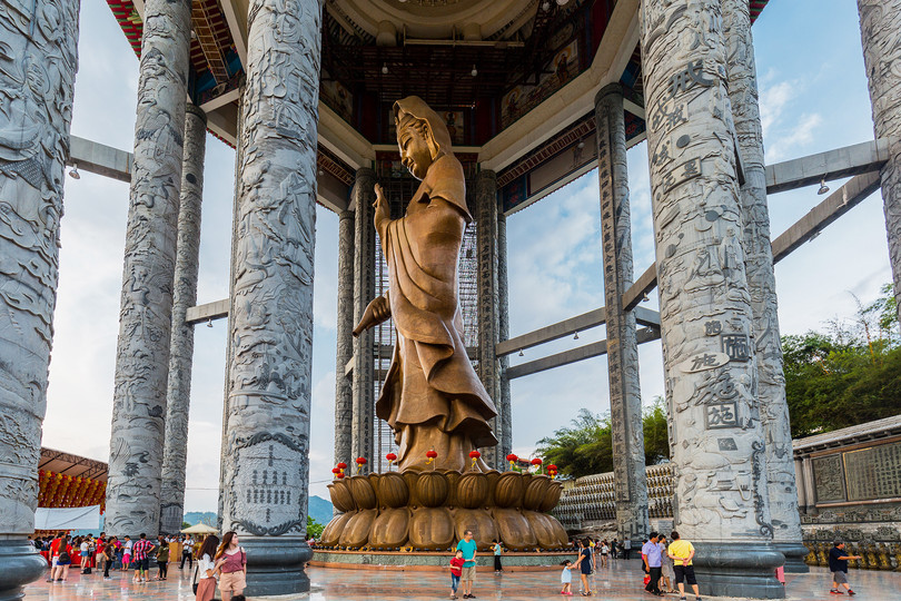Penang Kek Lok Si Goddess of Mercy