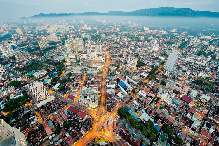 Bird's Eye View of George Town