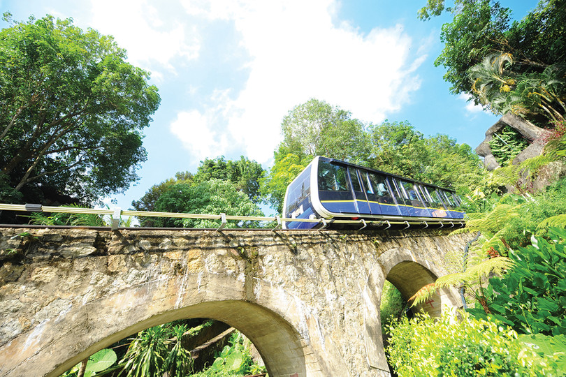 Penang Hill Funicular Train