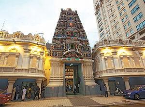 Kuala Lumpur Sri Maha Mariamman Hindu Temple