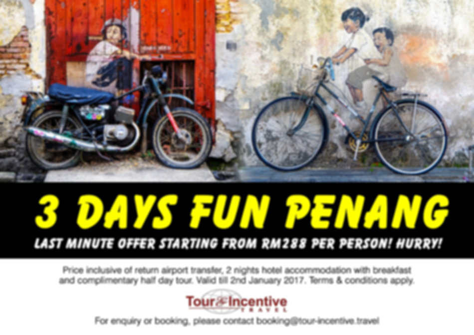 3 Days Fun Penang