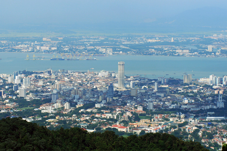 Panoramic View of George Town