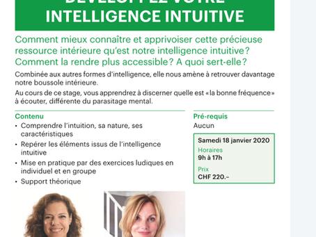 Evénement intuition ! 18 janvier 2020